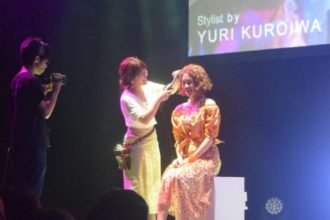 N.style BRUSH ヘアーショ―に出演しました!
